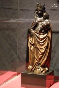 Copia de la imagen de la Virgen del Pilar. Siglo XX. Palacio Arzobispal.