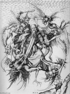 Martin-Schongauer-The-Temptation-of-St.-Anthony