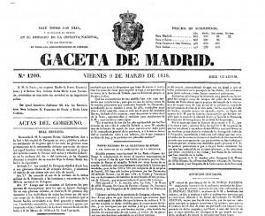 Gaceta Madrid 1838 (cincomarzada)-001