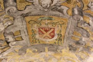 Detalle de la bóveda atribuida a Felices de Cáceres (1546-1617).