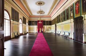Salón del Trono del palacio arzobispal en la actualidad.
