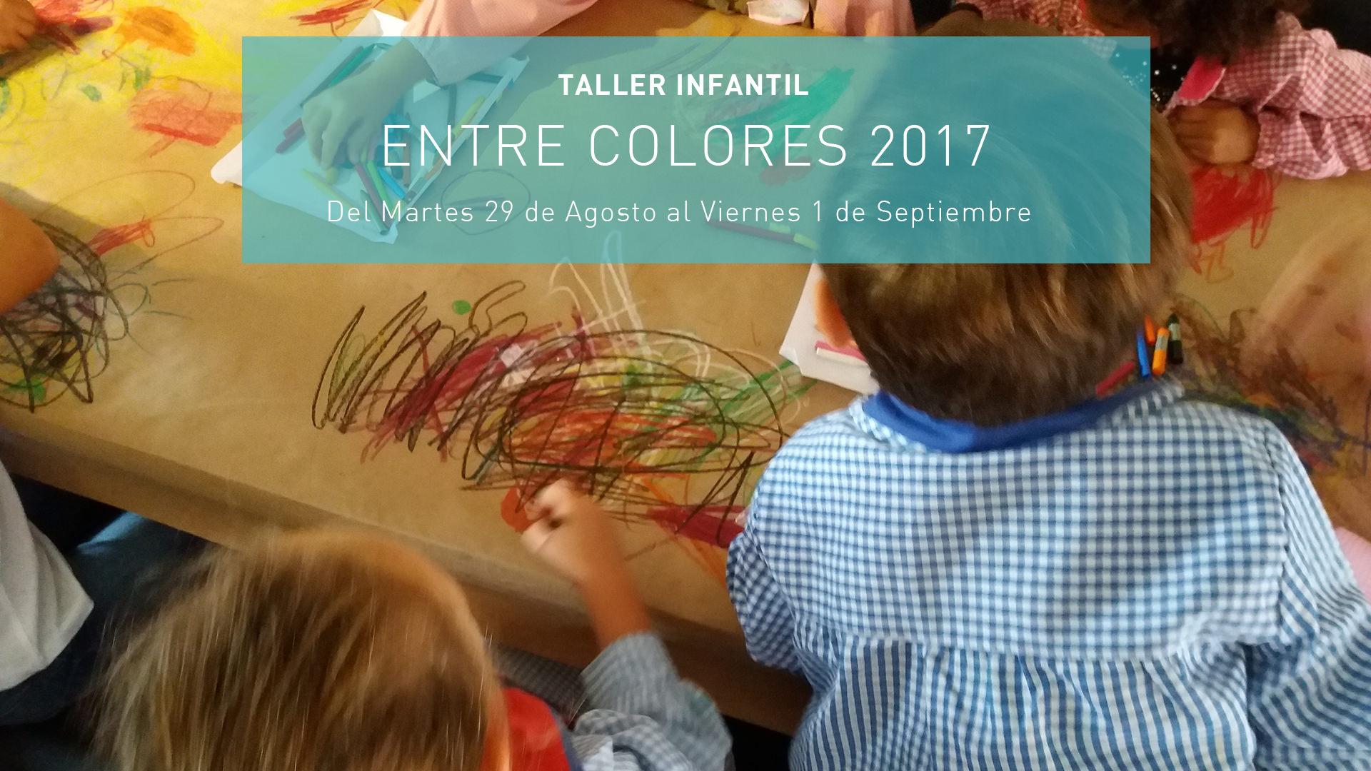 Taller infantil – Entre colores 2017