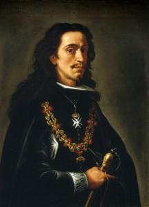 Retrato que se atribuye a don Juan José de Austria, pintado en el último tercio del siglo XVII por un artista anónimo. Se conserva en el Museo del Prado.