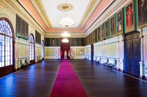 Imagen del actual salón del trono.