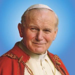 Fotografía de san Juan Pablo II.