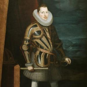 Retrato de Felipe III realizado en 1606 por Juan Pantoja de la Cruz. Se conserva en el Museo del Prado.